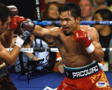 Manny Pacquiao (Boxing) vs Oscar De Lay Hoya Autographed Photo (Hand Signed Collectable) Photo
