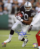 Darren McFadden Oakland Raiders - Running Autographed Photo (Hand Signed Collectable) Photo