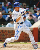 Ryan Theriot Chicago Cubs -Swinging Photo