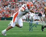 J Leman Illinois Fighting Illini - Action Autographed Photo (Hand Signed Collectable) Photo