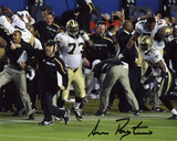 Sean Payton New Orleans Saints Super Bowl XLIV Sideline Autographed Photo (Hand Signed Collectable) Photographie