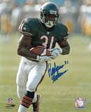 Rashaan Salaam Chicago Bears Autographed Photo (Hand Signed Collectable) Photo