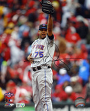 Francisco Rodriguez New York Mets. Autographed Photo (Hand Signed Collectable) Photo