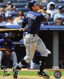Evan Longoria Tampa Bay Rays Autographed Photo (Hand Signed Collectable) Photo