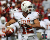Colt McCoy Texas Longhorns Ball in Hand Autographed Photo (Hand Signed Collectable) Foto