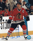 Chris Chelios Chicago Blackhawks Autographed Photo (Hand Signed Collectable) Photo