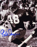 Gale Sayers Kansas Jayhawks B&W Photo