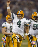 Brett Favre Green Bay Packers -Touchdown Pass Celebration Autographed Photo (H& Signed Collectable) Photo