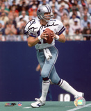 Roger Staubach Dallas Cowboys Autographed Photo (Hand Signed Collectable) Photo