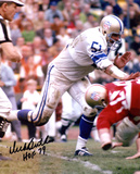 Dick Butkus Chicago Bears -Pro Bowl- with HOF 79  Autographed Photo (Hand Signed Collectable) Photo
