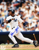 Homer Bush New York Yankees - Action Photo