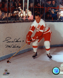 Gordie Howe Detroit Red Wings with Mr. Hockey 9  Autographed Photo (Hand Signed Collectable) Photo