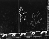 Evel Knievel (motorcycle Stuntman) Wembley Stadium Autographed Photo (Hand Signed Collectable) Photo