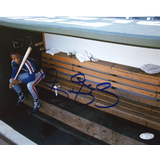 Darryl Strawberry On Bench Photo