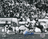 Fred Biletnikoff Oakland Raiders B&W Autographed Photo (Hand Signed Collectable) Photo
