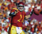 Matt Leinart USC Trojans - Preparing to Pass Autographed Photo (Hand Signed Collectable) Photo