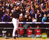 Matt Holliday Colorado Rockies - 2007 NLCS Home Run Autographed Photo (Hand Signed Collectable) Photo