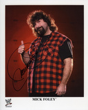 Mick Foley WWE Autographed Photo (Hand Signed Collectable) Photo