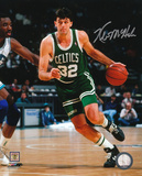 Kevin McHale Boston Celtics - Dribbling Action Autographed Photo (Hand Signed Collectable) Photo