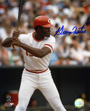 George Foster Cincinnati Reds - Action Autographed Photo (Hand Signed Collectable) Photo
