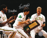 Kevin McHale & Robert Parish Boston Celtics Retirement  Autographed Photo (Hand Signed Collectable) Photo