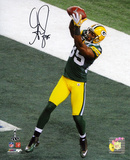 Greg Jennings Green Bay Packers Super Bowl XLV Autographed Photo (Hand Signed Collectable) Photo
