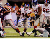 Ahmad Bradshaw Super Bowl XLVI RunSigned Photo