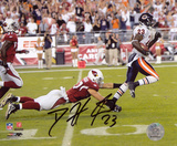 Devin Hester Bears Punt Return for TD vs. Cardinals Autographed Photo (Hand Signed Collectable) Photo