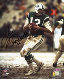 Joe Namath New York Jets - Drop Back Autographed Photo (Hand Signed Collectable) Photo