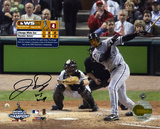 Jermaine Dye Chicago White Sox 2005 World Series Game 4 with &#39;&#39;WS MVP&#39;&#39; Inscription Photo
