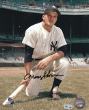 Moose Skowron New York Yankees - Kneeling Autographed Photo (Hand Signed Collectable) Photo