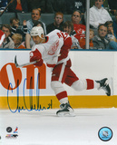 Chris Chelios Detroit Red Wings Autographed Photo (Hand Signed Collectable) Photo