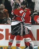 Patrick Kane Chicago Blackhawks - Celebration- Autographed Photo (Hand Signed Collectable) Photo