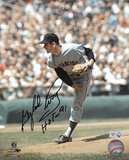 Gaylord Perry with Hall Of Fame 91 Inscription Autographed Photo (Hand Signed Collectable) Photo