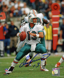 Dan Marino Miami Dolphins - Passing Autographed Photo (Hand Signed Collectable) Photo