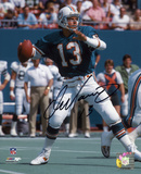 Dan Marino Miami Dolphins - THome Runowing at Home Autographed Photo (Hand Signed Collectable) Photo