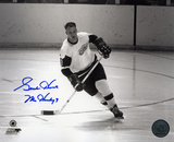 Gordie Howe Detroit Red Wings with 9 Mr. Hockey  Autographed Photo (Hand Signed Collectable) Photo