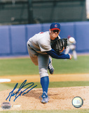 Mark Prior Chicago Cubs Grey Uniform Autographed Photo (Hand Signed Collectable) Photo