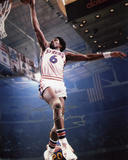 Julius Erving Philadelphia 76ers Autographed Photo (Hand Signed Collectable) Photo