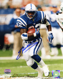 Edgerrin James Indianapolis Colts - Running Autographed Photo (Hand Signed Collectable) Photo