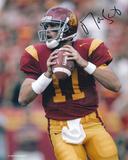 Matt Leinart USC Trojans Action Autographed Photo (Hand Signed Collectable) Photo