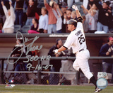 Jim Thome Chicago White Sox - 500th HR 500 HR 9-16-07 Inscription Photo
