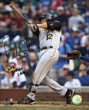 Freddy Sanchez Pittsburgh Pirates - Batting with 2006 NL Batting Champ Inscription Photo