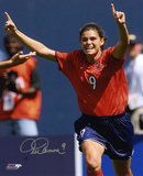 Mia Hamm - Soccer Action Photo