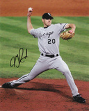 Jon Garland Chicago White Sox - 2005 World Series Autographed Photo (Hand Signed Collectable) Photo
