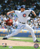 Randy Wells Chicago Cubs Autographed Photo (Hand Signed Collectable) Photo