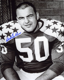 Dick Butkus Illinois Fighting Illini - All-Star Game Autographed Photo (Hand Signed Collectable) Photo