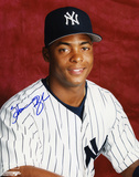 Homer Bush New York Yankees Autographed Photo (Hand Signed Collectable) Photo