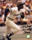 Al Oliver Pittsburg Pirates with 71 WS Champ  Autographed Photo (Hand Signed Collectable) Photo