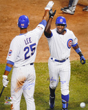 Alfonso Soriano &amp; Derrek Lee Chicago Cubs  HR Celebration Photo